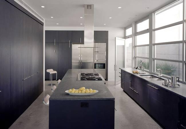 Tatiana doria cocinas negras for Cocinas integrales negras