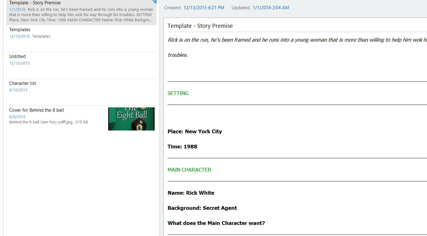 how to create a template in evernote - samantha fury 39 s land of writing evernote part two