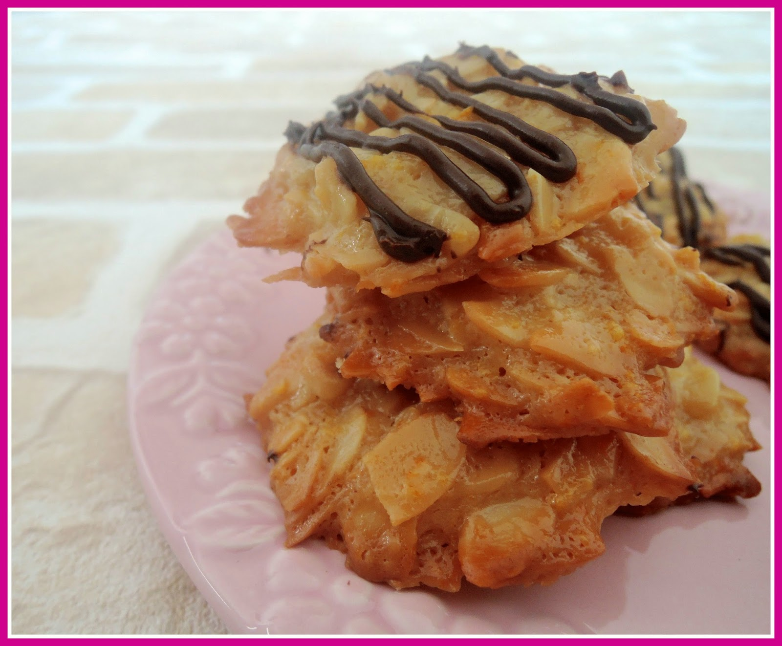 Honey Almond Florentines