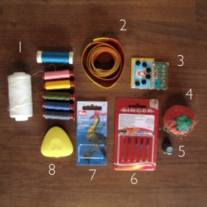 BASIC HAND SEWING TOOLS
