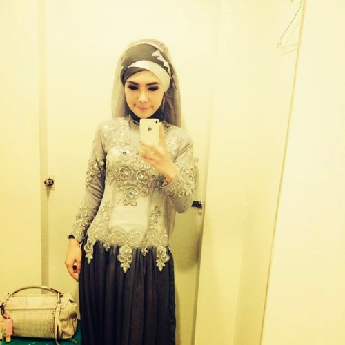 Model 5. Hijab Kebaya Modern Terbaru 2015