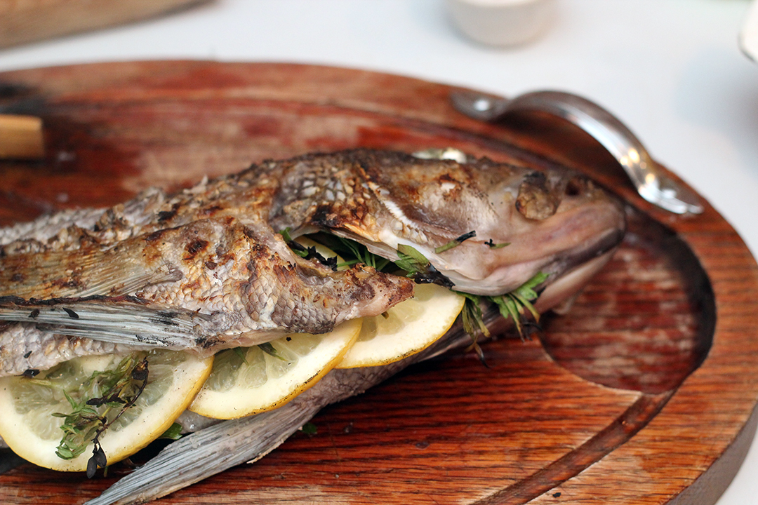 The butcher and the baker recipe whole grilled fish for Whole fish recipes