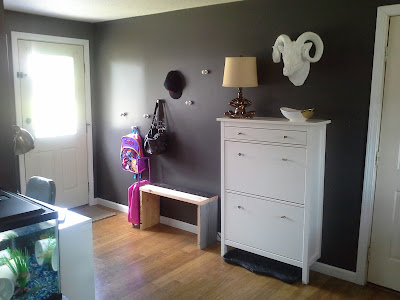 Entry way Hemnes cabinet