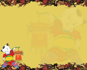 FREE Chinese New Year PowerPoint Background 8
