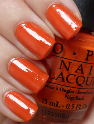 A Roll In The Hague, OPI, swatch