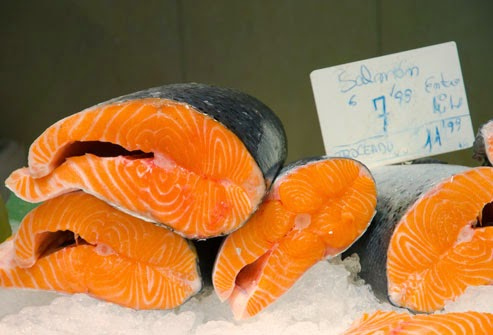 Salmon (Blood Pressure Lowering Diet - The Source of Astaxanthin)