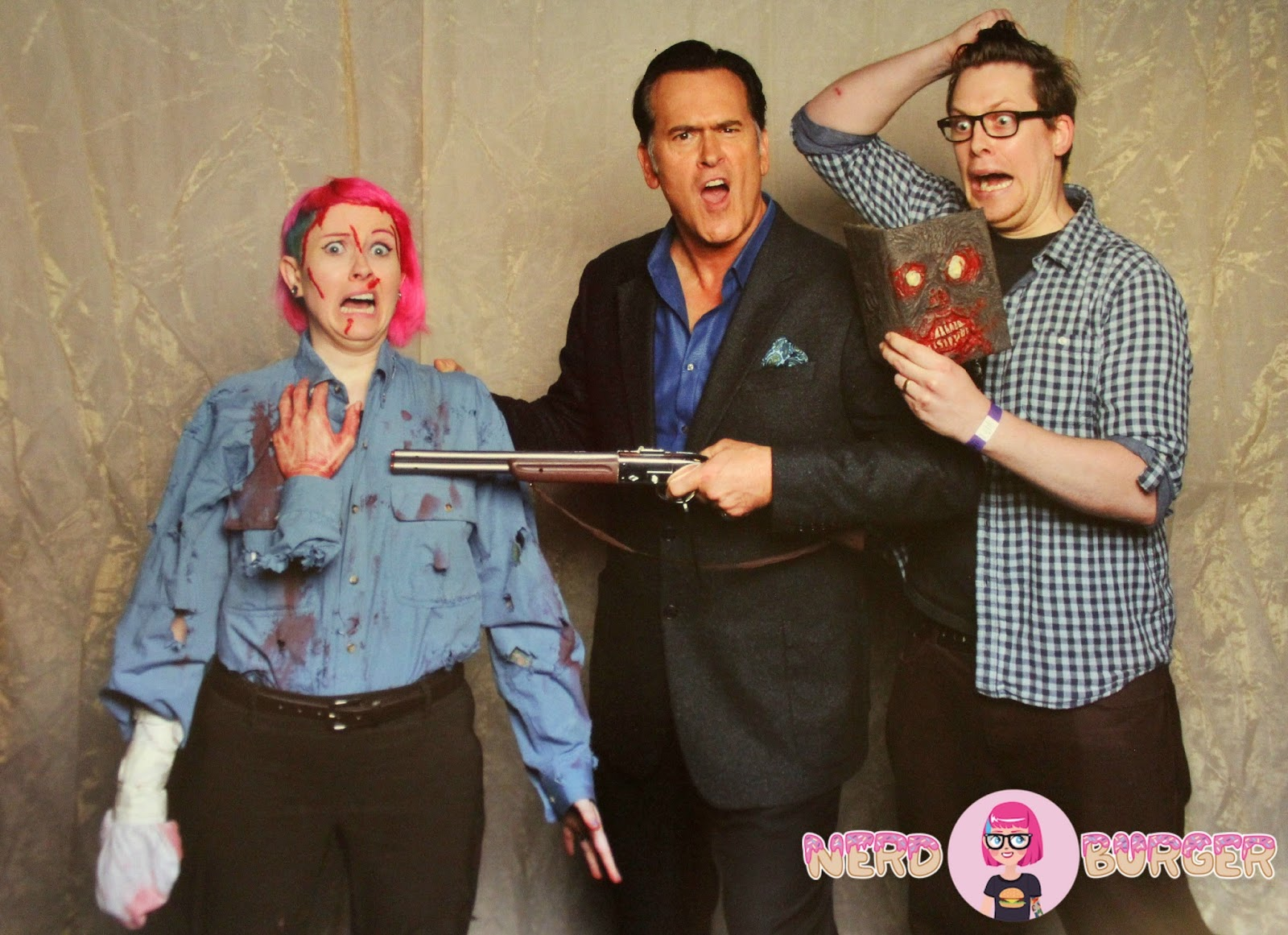 Nerd Burger Meeting Bruce Campbell