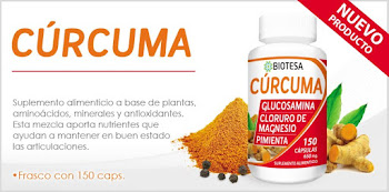 cúrcuma en cápsulas antioxidante y tratamiento de apoyo en casos de cáncer