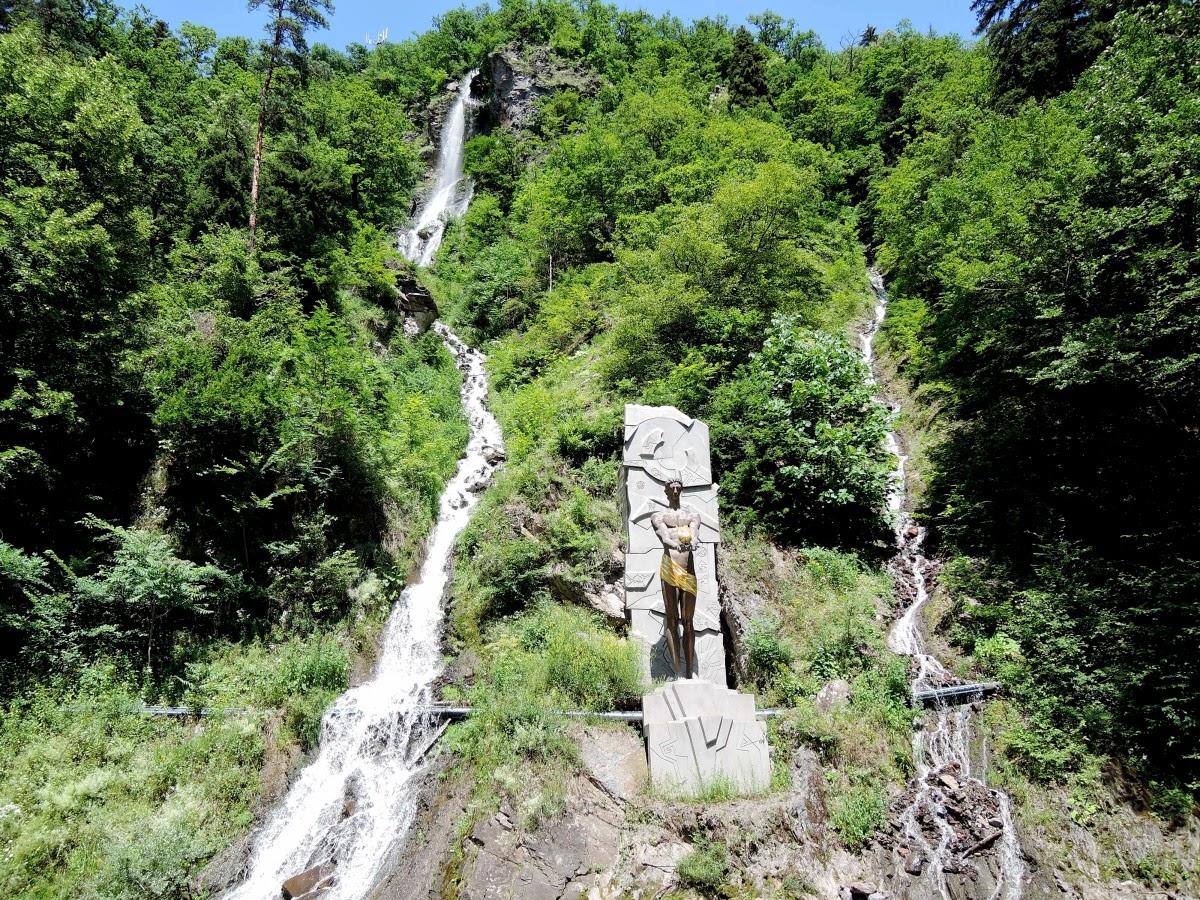 водопады в Боржоми