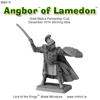 Angbor of Lamedon | Mithril Miniatures metal figure.
