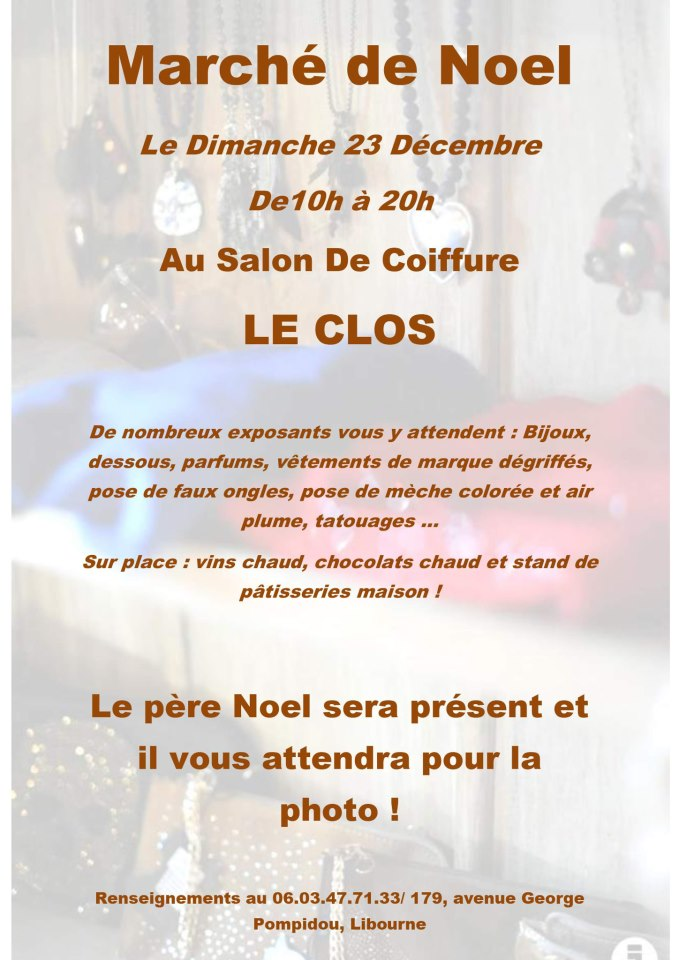 Not just for the holidays week 51 2012 for Salon de coiffure sexy
