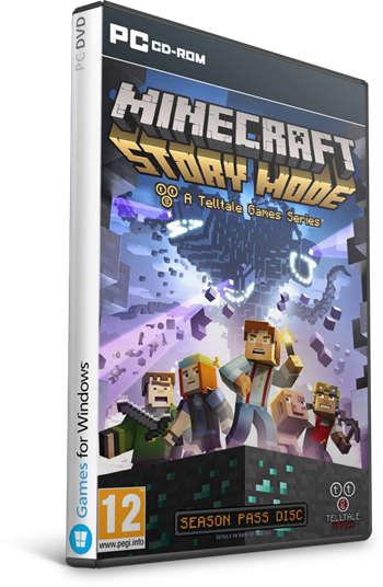 Minecraft: Story Mode PC Full Español