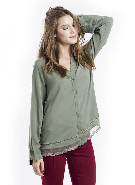 Tibetano Store invierno 2015 Blusas y camisas de moda,