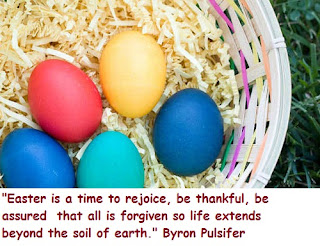 happy easter rejoice quote
