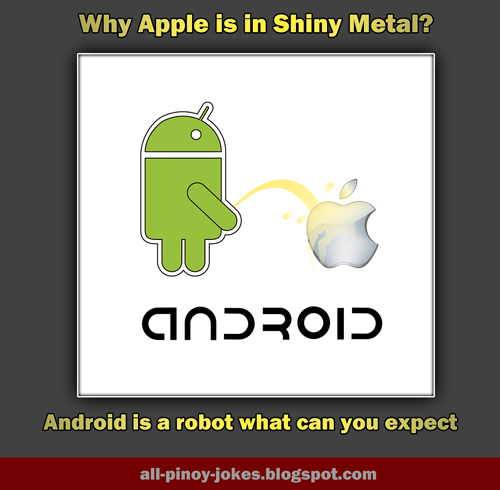 android vs apple the rivalry continue funny pinoy jokes atbp
