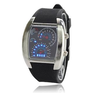 แฟชั่นนาฬิกาข้อมือ LED รุ่น RPM WATCH