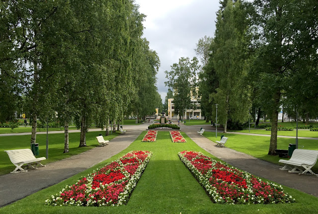 The Great Finnish Road Trip, road trip Finland, visit Finland, Kuopio park