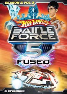 Hot Wheels Battle Force 5: Season 2, Volume 3