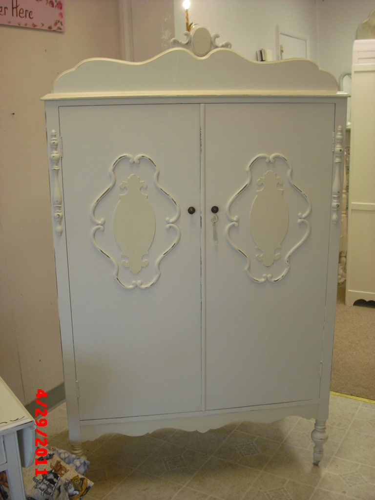 armoire furniture antique. Antique Painted Armoire, Wardrobe, Shabby Distressed Armoire Furniture O