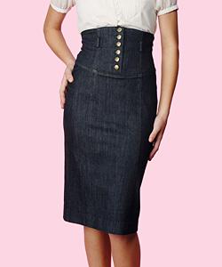 Denim Skirt Nice Waist