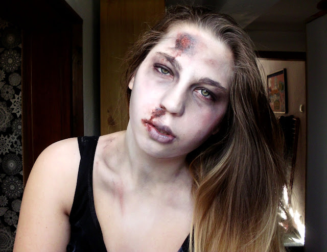 how to make a realistic zombie makeup