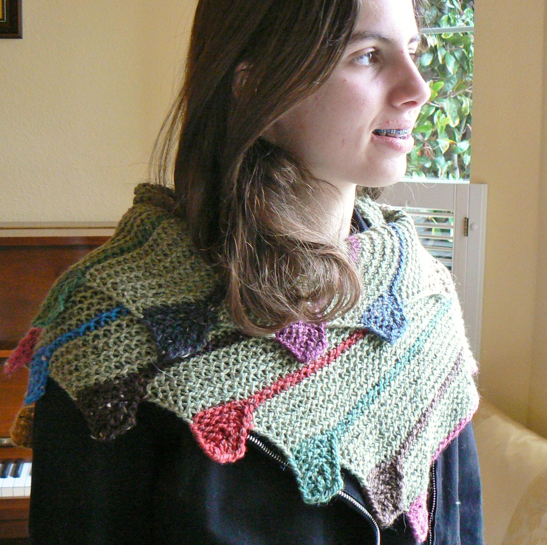 Loom Knit Shawl Pattern : Invisible Loom Innovative Patterns for Loom Knitters: Loom Knit Shawls Vol. II