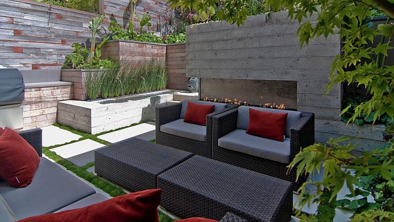 Casas minimalistas y modernas patios modernos y minimalistas for Patios exteriores de casas