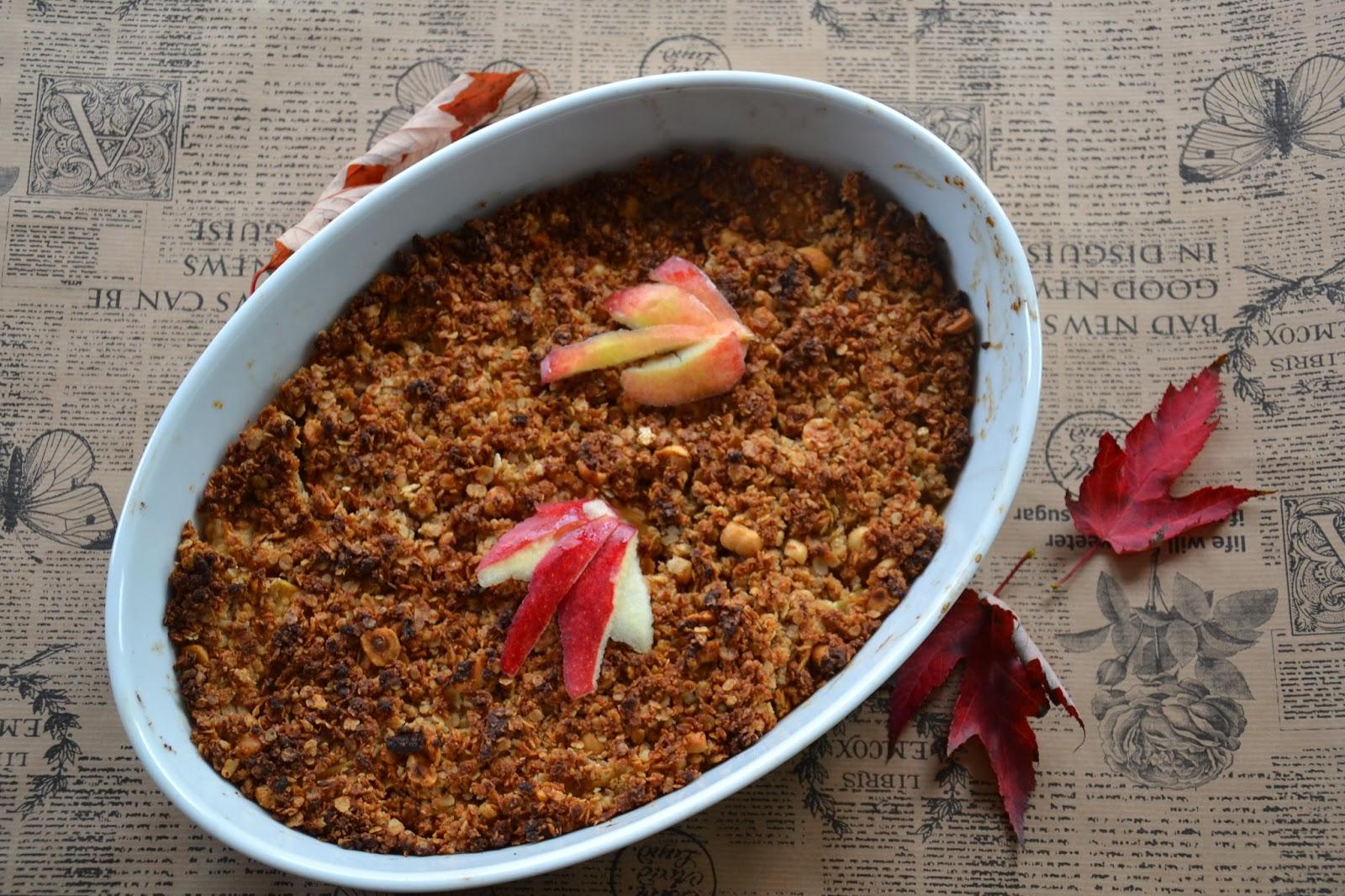 Brændstof: Æblekalas #3: Æbletærte med glutenfri smuldredej (skøn efterårskage til madblogger ...