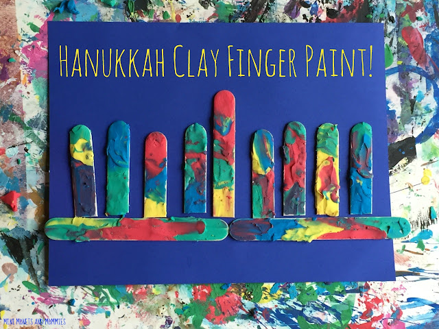 Clay finger paint