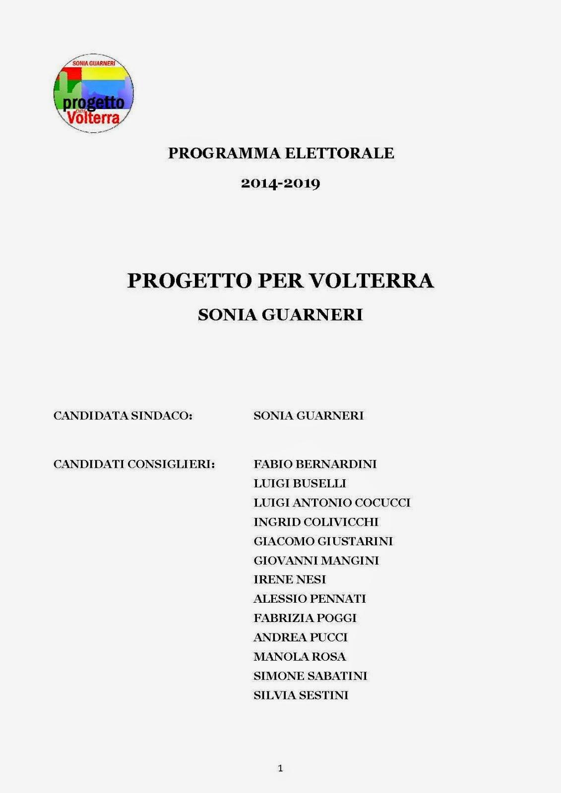 Programma Amministrativo 2014-2019