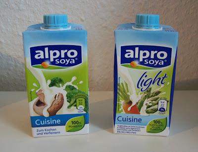 Beyourselfstayhealthy getestet soja flocken sahne for Alpro soja cuisine