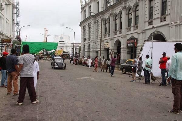 "Ranveena Tandon Hot Unseen HD Photos on Sets Of ""Bombay Velvet"""