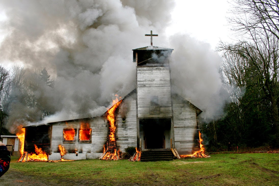 God's House on Fire