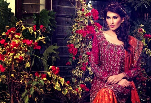 Latest Bridal Wear Collection 2015