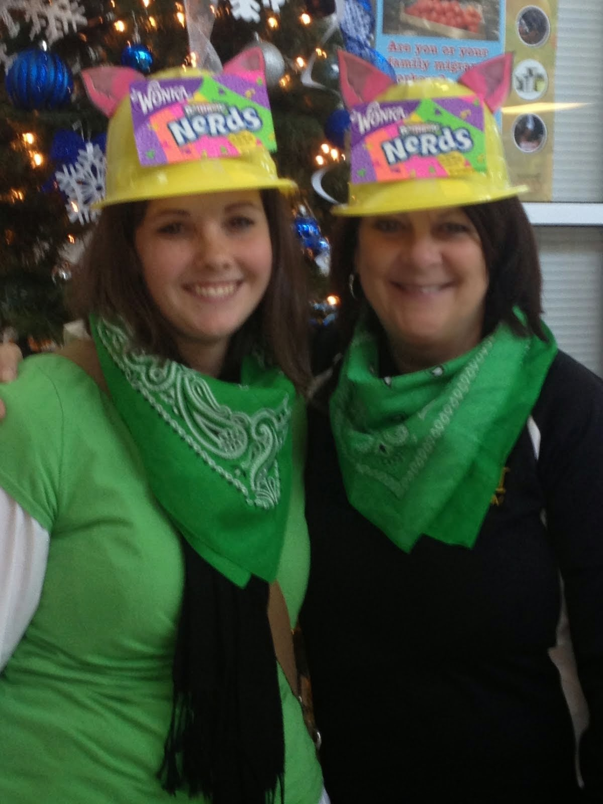Mrs. Cook and Mrs. Kmiec
