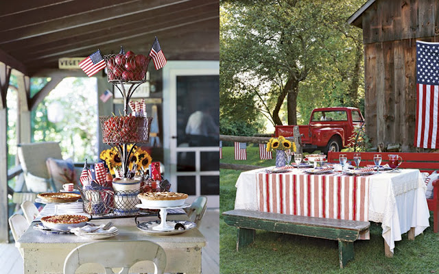 4th of July summer picnic party ideas