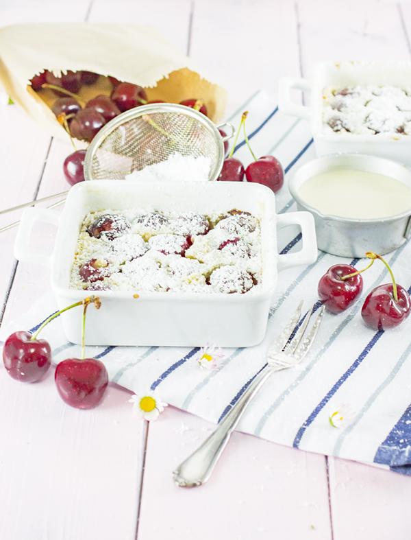 Clafoutis mit Kirschen: Eier-Pfannkuchen aus dem Ofen