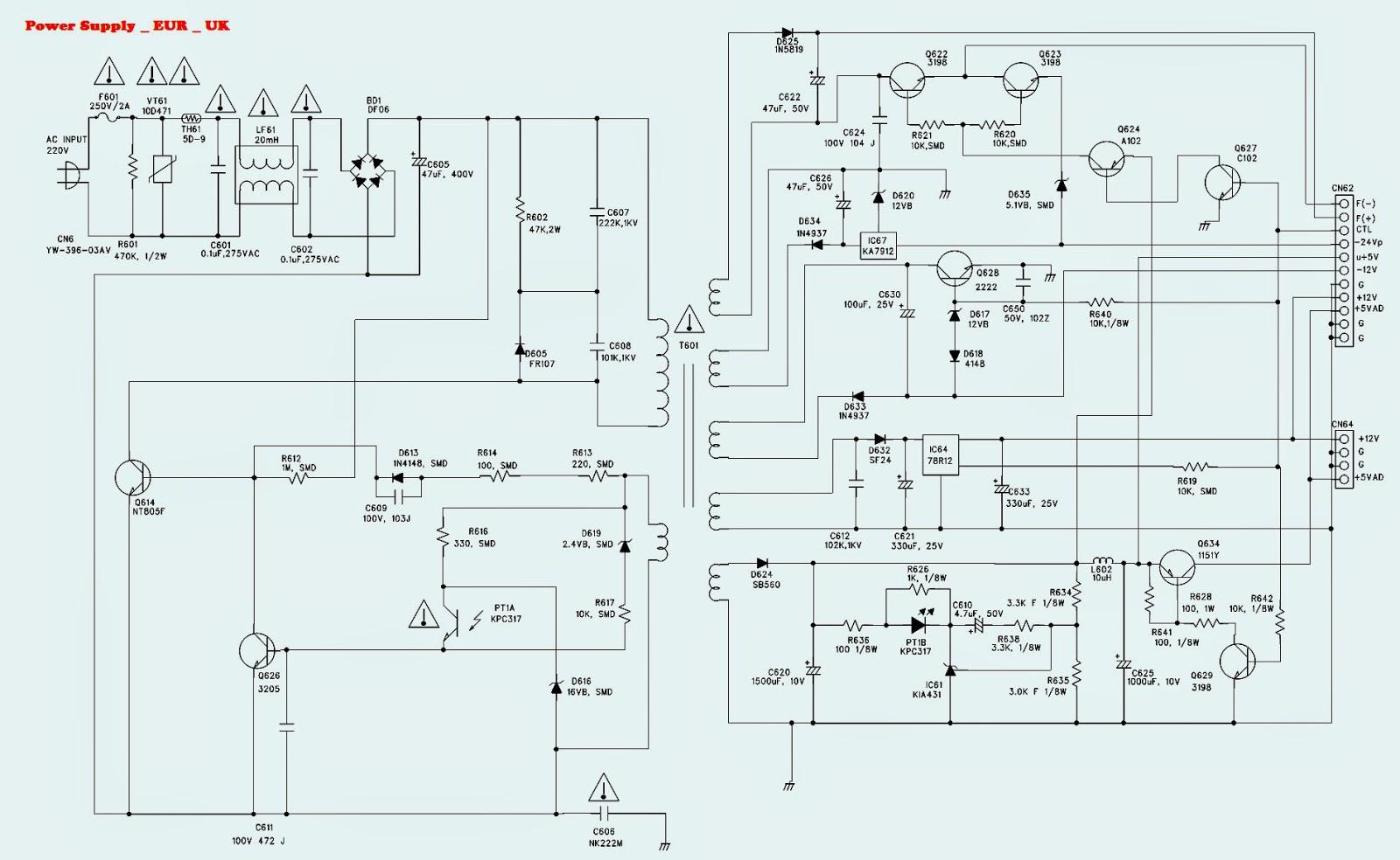 Teac dts dv h550 dv h350 dvd player smps power supply teac dts dv h550 dv h350 dvd player smps power supply circuit diagrams pooptronica