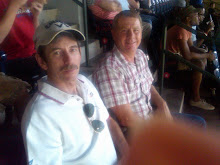 Brad and Dale at the Braves Game