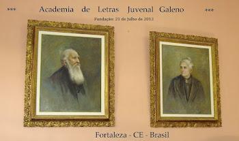 Membro da Academia de Letras Juvenal Galeno