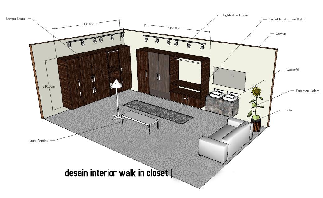trends home modern desain interior walk in closet
