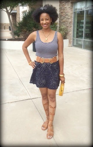 Beauty4Ashes Leah Frazier Dallas Nautical Fashion The Limited Gladiator Sandals Via Spiga