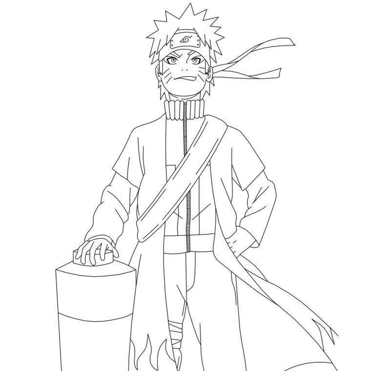 Top du meilleur coloriages naruto gratuits a imprimer - Naruto kyubi dessin ...