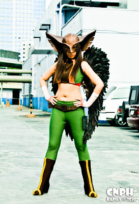 izabelcortez as Hawkgirl