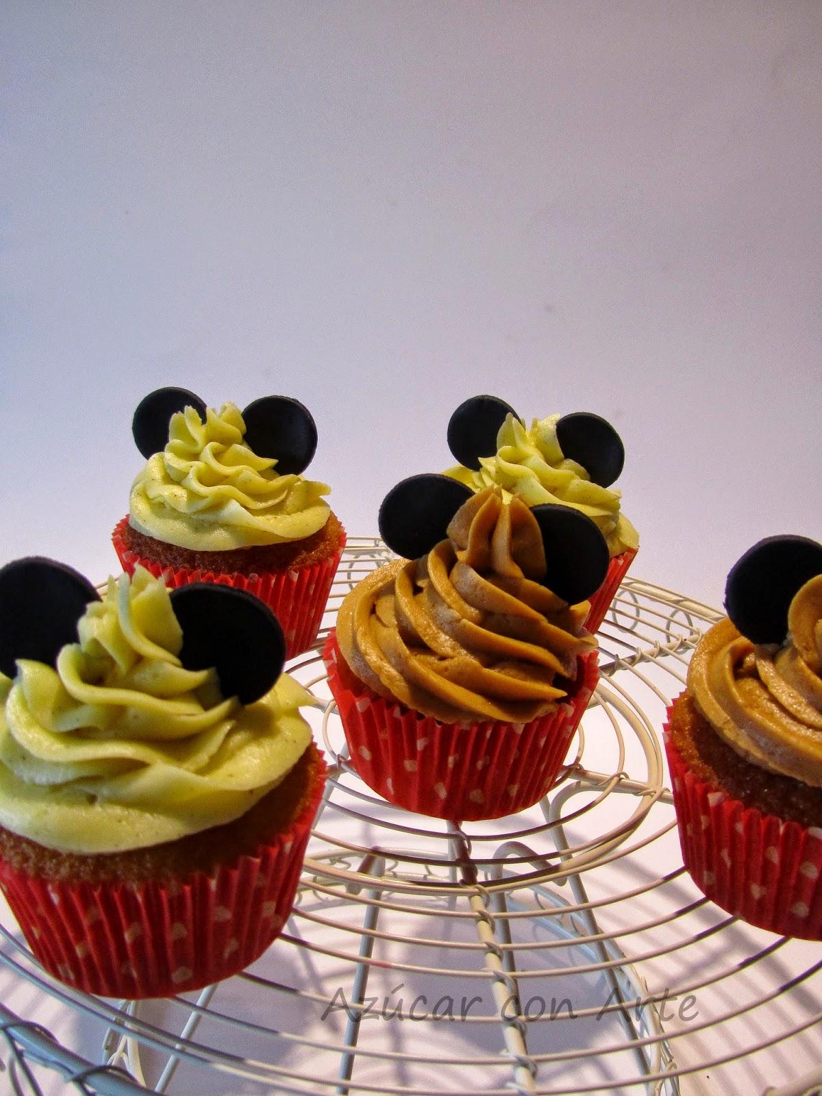minnie cupcakes | azucar con arte