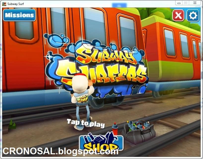 Download Game Subway Surfers untuk PC Gratis