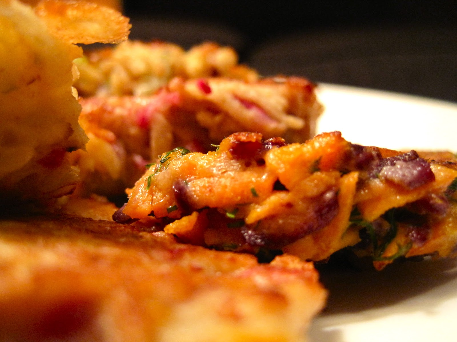 Kvell in the Kitchen: Root Vegetable Latkes with Apple ...
