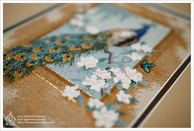 Beautiful Bird Dimensions вышивка крестом
