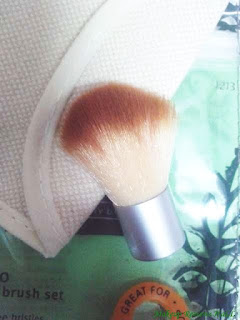 Ecotools Mini Kabuki Brush Review