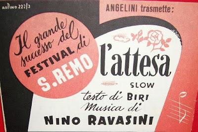 Sanremo 1952 - Gino Latilla - L'attesa